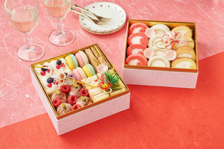 【スイーツおせち2022】パティスリーモンシェールに川崎日航ホテル!スイパラのおせちそっくりケーキも