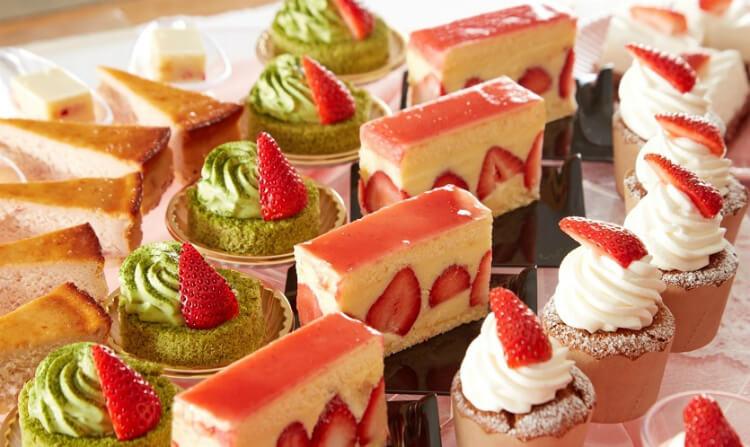 【いちごビュッフェ2021】全国(東京・大阪・名古屋等)人気店予約一覧!ホテルブッフェにカフェも