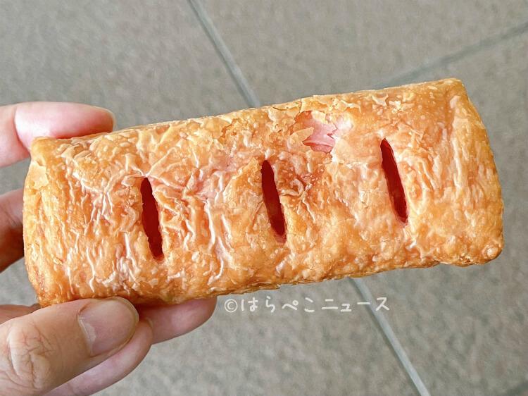 【実食レポ】ケンタッキー『いちごチョコパイ』クリームもパイもピンク色!サクサク生地にとろ〜りクリーム