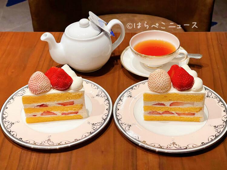 【実食レポ】横浜ベイシェラトン『極上ショートケーキシリーズ』第1弾あまおう&パールホワイト(白苺)