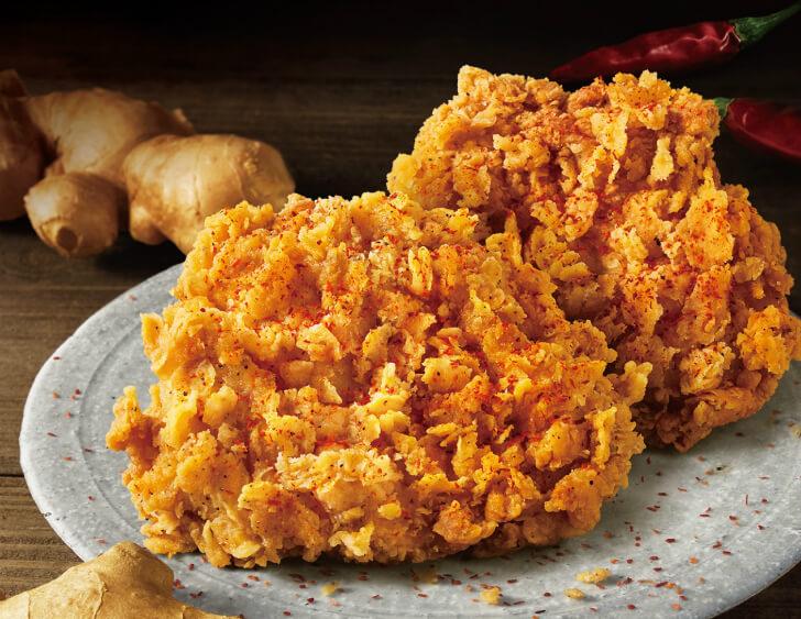 【実食レポ】ケンタッキー『ジンジャーホットチキン』生姜と唐辛子の辛味が迫るサクサク骨なし辛口チキン!