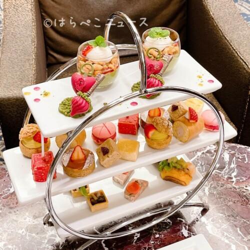 【実食レポ】ロイヤルパークホテルのアフタヌーンティー!ロビーラウンジ「フォンテーヌ」でチョコレート細工