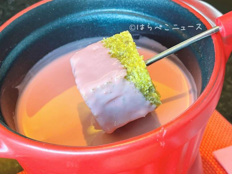 【実食レポ】ANA 「MIXX バー&ラウンジ」で『ストロベリー&ルビーチョコレートフォンデュ』