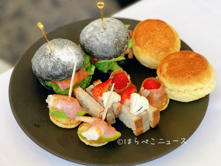 【実食レポ】『ロイヤルパインズホテル浦和』でアフタヌーンティー!新品種いちご「あまりん」のトゥンカロンも!