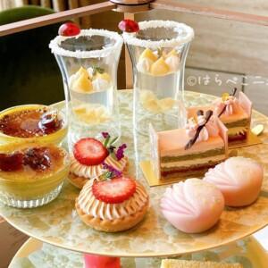 【実食レポ】『シャングリラホテル東京』さくらアフタヌーンティー!「ザ・ロビーラウンジ」で桜型のスコーン