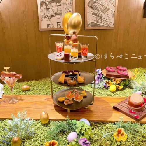 【実食レポ】「ホテルインターコンチネンタル東京ベイ」イースタースイーツ!ヴァローナのアフタヌーンティー