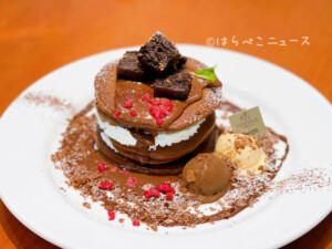 【実食レポ】デニーズ×ゴディバ(GODIVA)第2弾!チョコレートパンケーキにチョコレートプリンミニパルフェ