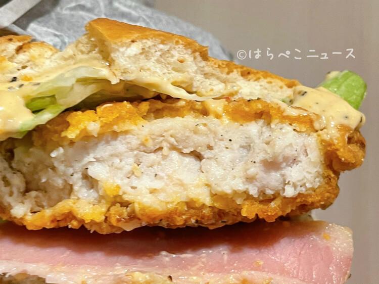 【実食レポ】ケンタッキー『ガリマヨベーコンサンド』肉厚のチキンにガーリックマヨネーズ!数量限定で新発売
