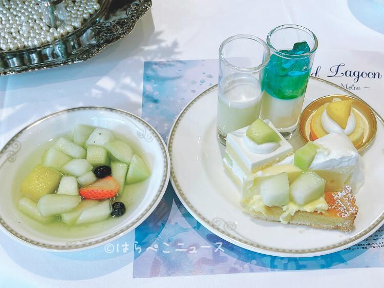 【実食レポ】ザストリングス表参道でマーメイドスイーツビュッフェ『マーメイドラグーン~メロンに恋した人魚姫~』