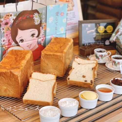 【実食レポ】『愛してる人きみだけ』所沢駅に高級食パン専門店誕生!プレーン・レーズンにドリップオンコーヒー