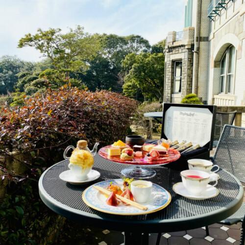 【神戸アフタヌーンティー 25選 2021】ホテル・カフェ・ガーデンでティータイム!北野クラブや神戸迎賓館でも