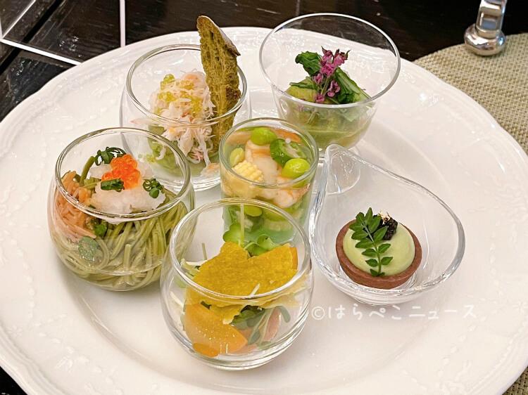 【実食レポ】ANA「シャンパンバー」で『抹茶スイーツブッフェ』パンダに囲まれて抹茶メニューを堪能!