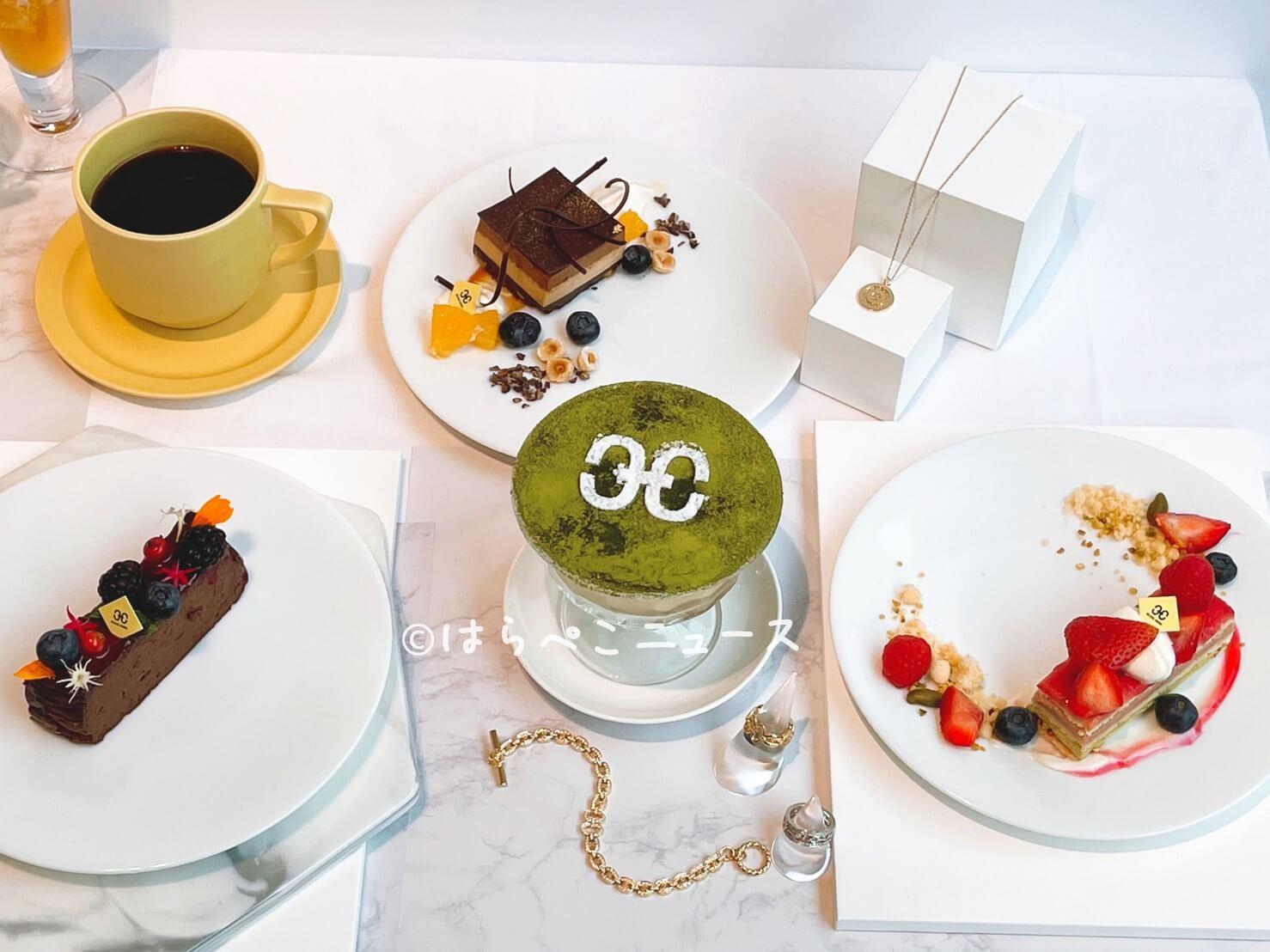 【実食レポ】『ヘリカルコード ジュエリー&カフェ』銀座Giovanniコラボスイーツ!ミカフェートのコーヒーも
