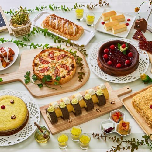 【はちみつスイーツ2021】ハニーアフタヌーンティーにはちみつビュッフェ!ロールケーキや蜂蜜プリンも!