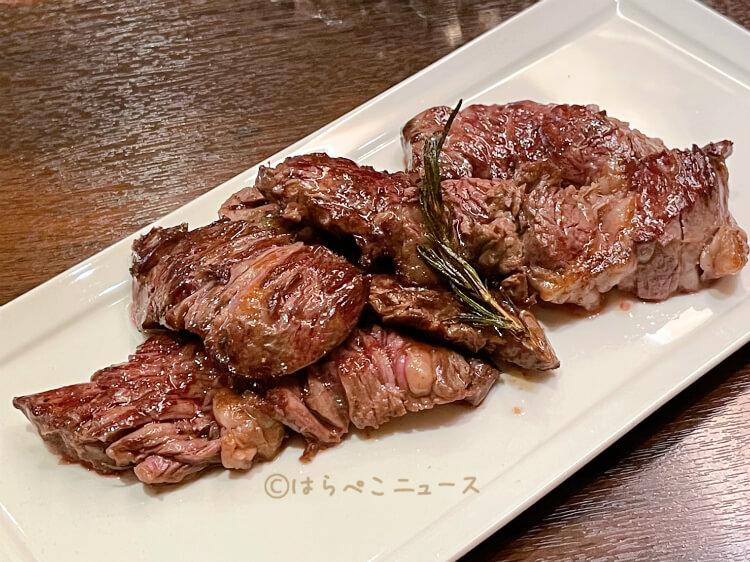 【実食レポ】日本橋『肉友』3時間ステーキ食べ放題コース!ロース・ハラミ・ウチモモに生ハムやポテトも!