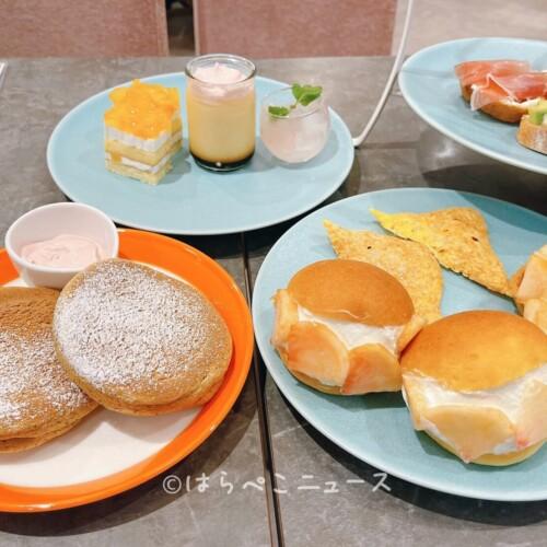 【実食レポ】麹町珈琲でアフタヌーンティー!スフレパンケーキにマリトッツォ!所沢・流山おおたかの森限定
