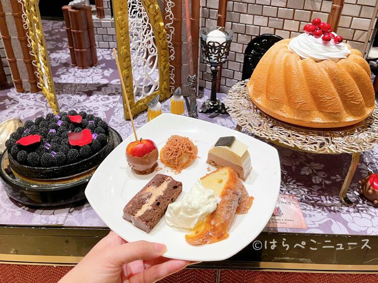 【実食レポ】ヒルトン東京「魔法使いの学校」スイーツ&ランチビュッフェを実食!