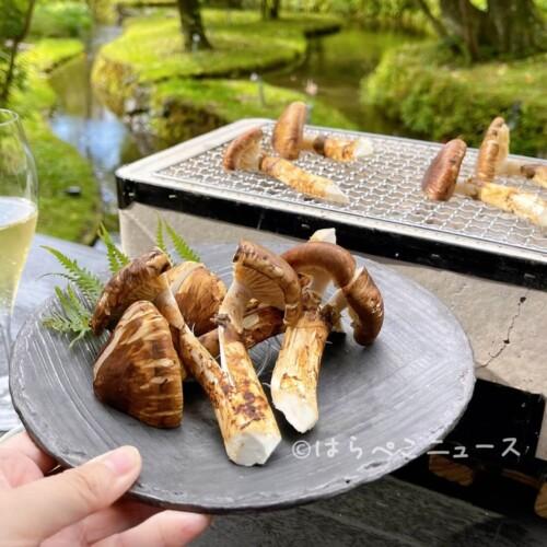 【実食レポ】星のや軽井沢「松茸とシャンパーニュを堪能する優雅なひととき」を実体験!