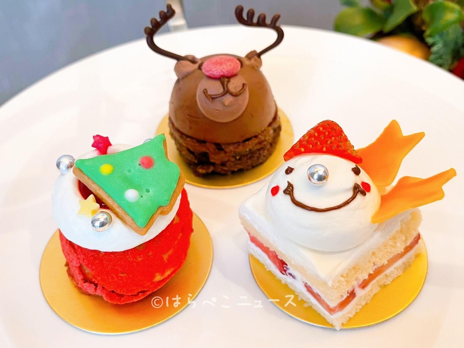 【実食レポ】シャングリラ東京でクリスマスならではのアフタヌーンティー!キッズアフタヌーンティーも登場!