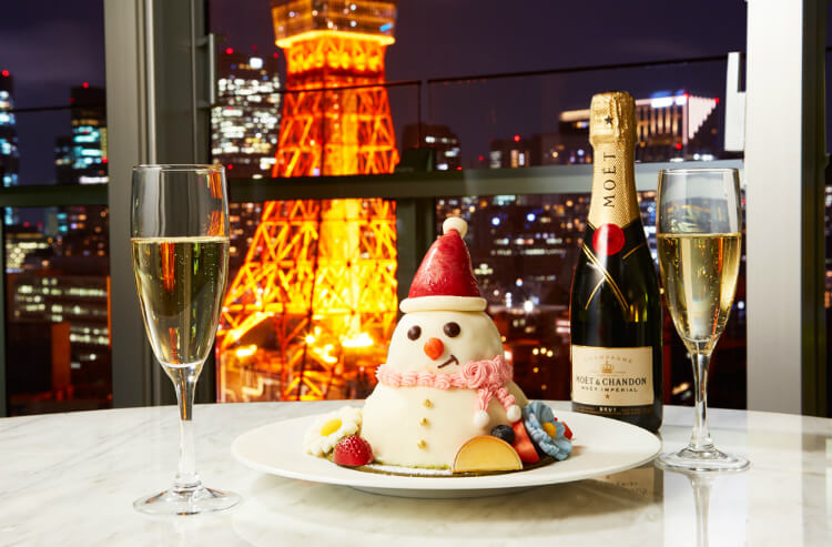 【クリスマス宿泊プラン2021】カップルにおすすめのおこもりクリスマス!インルームディナーにケーキも