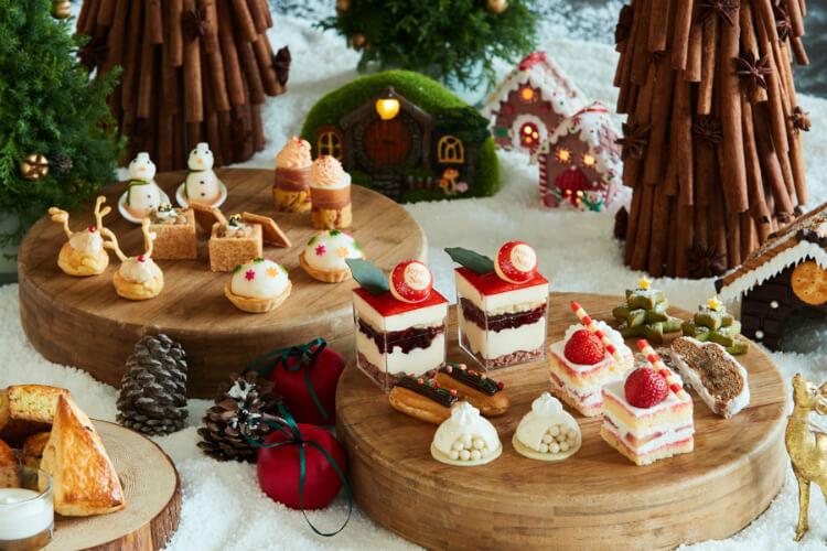 【クリスマスアフタヌーンティー2021】ホテルのXmasスイーツ!東京・横浜・関西など全国の予約一覧