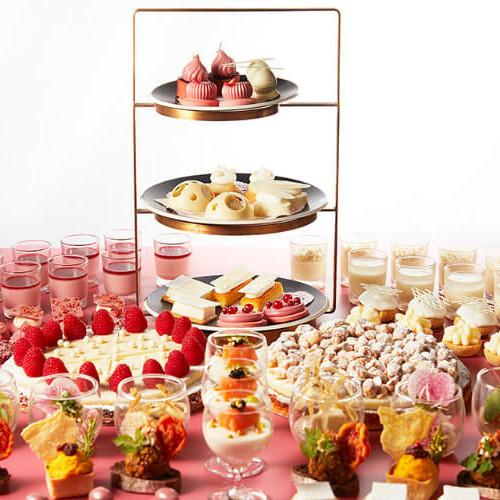 【ホワイト&ルビー チョコレートスイーツブッフェ】ANAインターコンチネンタルホテル東京で開催!