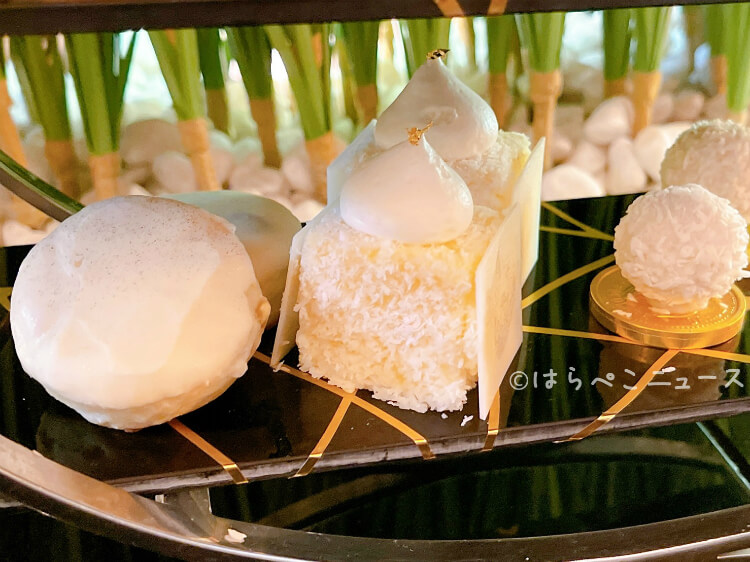 【実食レポ】金継ぎアフタヌーンティー「ANAインターコンチネンタルホテル東京」ホワイトチョコスイーツ