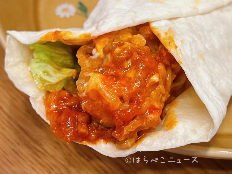 【実食レポ】ケンタッキー「スパイシータコスツイスター」を実食!お肉と野菜を手軽に!