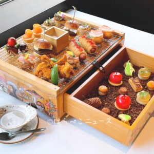 【実食レポ】「フォレスト・ブースト」ザ・ステーキハウスでアフタヌーンティー(ANAインターコンチネンタル)